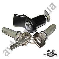 Замок багажника ВАЗ 2113-15 с ключами и личинками дверей    05087