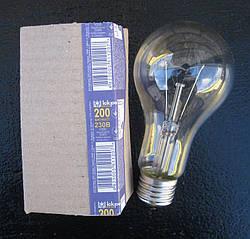 Лампа накаливания ЛОН 200 Вт  Е27 220v ИСКРА