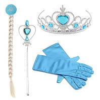 Набор карнавальный аксессуары Эльзы с перчатками