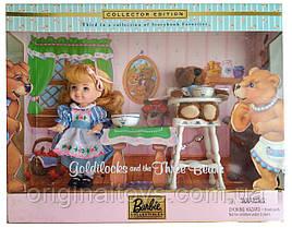 Набор коллекционная кукла Барби Келли Златовласка и три медведя Goldilocks and The Three Bears 2000 Mattel