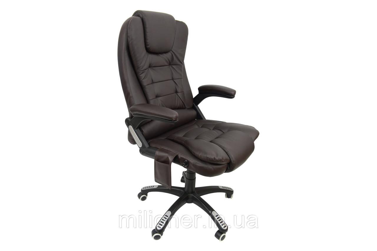 Кресло Bonro M-8025 коричневое