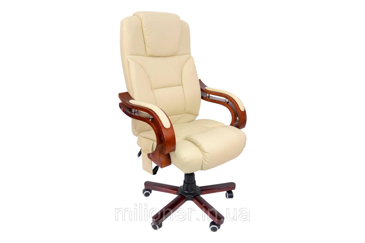 Кресло Bonro Premier M-8005 бежевое
