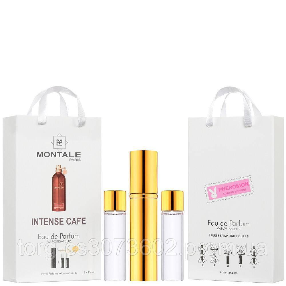 Мини-парфюм унисекс Montale Intense cafe, 3х15 мл
