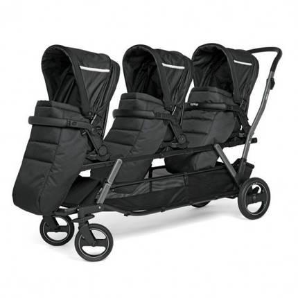 Прогулянкова коляска для трійні Peg Perego Triplette, фото 2