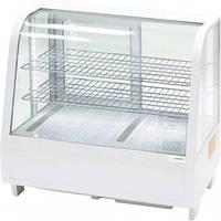 Витрина холодильная экспозиционная 100 л белая LED подсветка Stalgast 852103