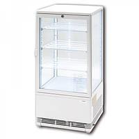 Витрина холодильная экспозиционная 78 л белая Stalgast 852173