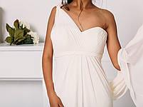 Классическое свадебное платье со сборками, фото 2