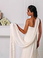 Классическое свадебное платье со сборками, фото 3