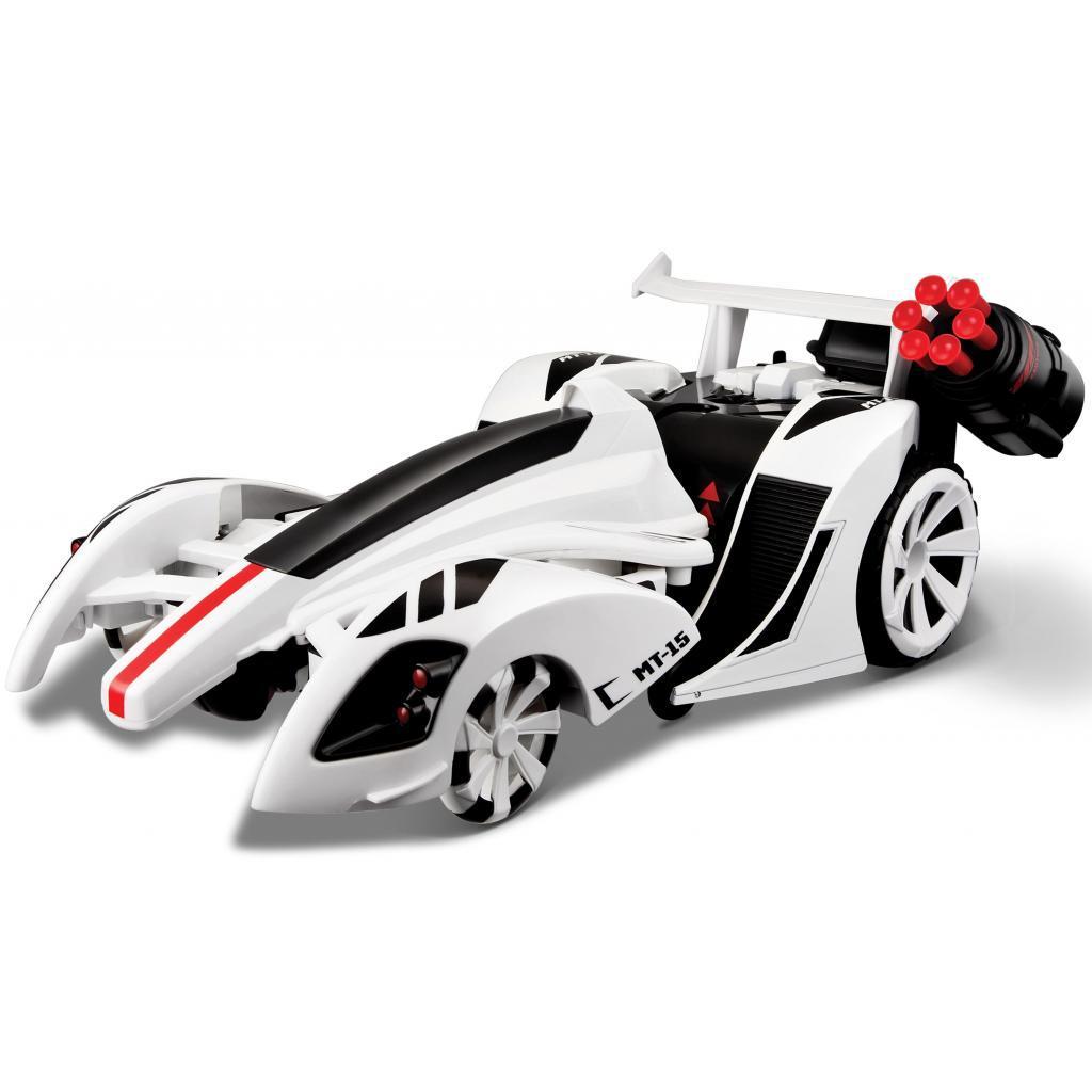 Автомобиль Maisto трансформер Twist and Shoot белый (81177 white)
