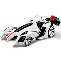 Автомобиль Maisto трансформер Twist and Shoot белый (81177 white), фото 1