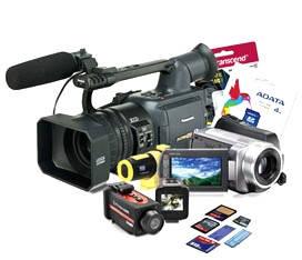 Фото-, відеокамери та аксесуари