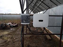 Сетевая солнечная электростанция 31,8кВт установлена в г. Сумы Сумская область 1