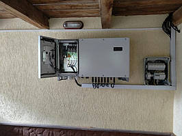 Сетевая солнечная электростанция 31,8кВт установлена в г. Сумы Сумская область 3
