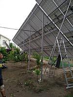 Сетевая солнечная электростанция 31,8кВт установлена в г. Сумы Сумская область 4