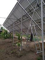 Сетевая солнечная электростанция 31,8кВт установлена в г. Сумы Сумская область 5