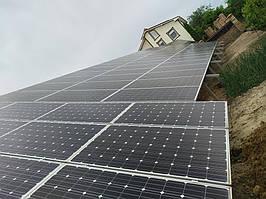 Сетевая солнечная электростанция 31,8кВт установлена в г. Сумы Сумская область 6