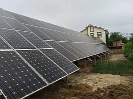 Сетевая солнечная электростанция 31,8кВт установлена в г. Сумы Сумская область 7
