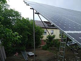 Сетевая солнечная электростанция 31,8кВт установлена в г. Сумы Сумская область 8