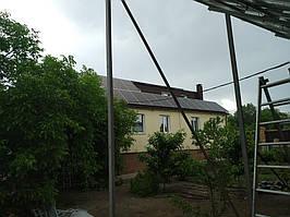 Сетевая солнечная электростанция 31,8кВт установлена в г. Сумы Сумская область 9