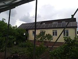 Сетевая солнечная электростанция 31,8кВт установлена в г. Сумы Сумская область 10
