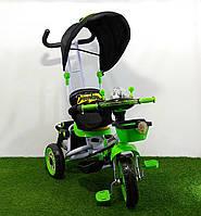 Велосипед детский трехколесный Panda 16S Зелёный с Чёрным