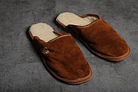 Мужские тапочки, тёплые комнатные тапочки, комнатная обувь