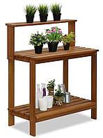 Декоративный деревянный стол для работы в саду - (Decorative Table - 01)