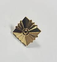 Звезда ромбовидная золото металл