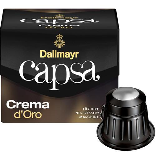 Кава в капсулах Dallmayr NESPRESSO Capsa Crema D'oro - 10 шт