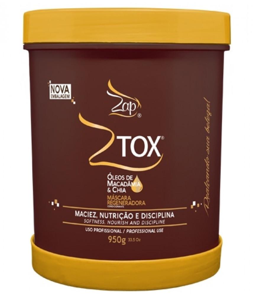 Ботекс для волос Zap Ztox Oleos De Macadamia & Chia 500 г