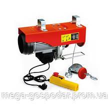 Тельфер электрический 400кг, электрическая лебедка 220В*400кг*12м
