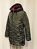 Жіночі зимові куртки і пуховики великі розміри, фото 5