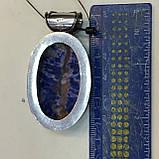 Содалит кулон овальный натуральный содалит в серебре Индия, фото 5