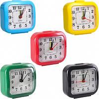 Настольные часы-будильник 7×7×3 см