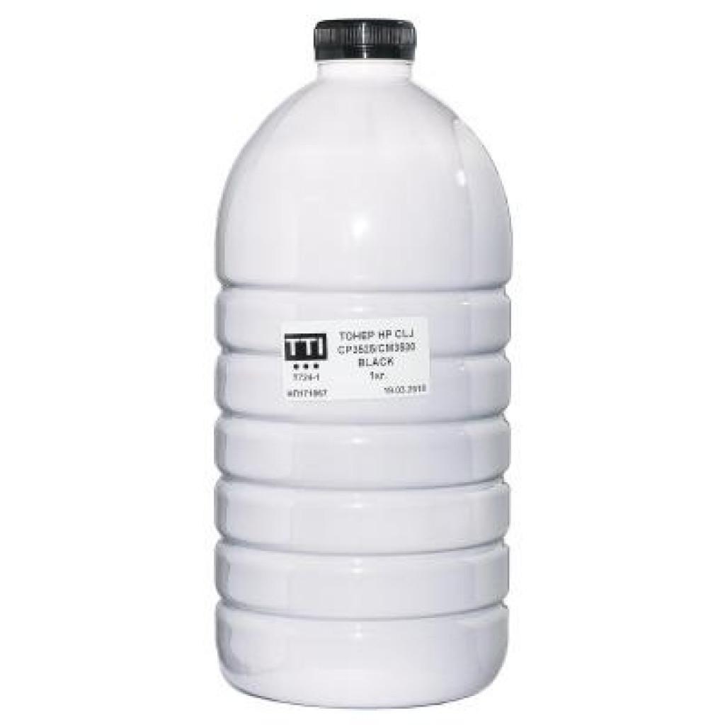 Тонер HP CLJ CP3530/3525 1кг BLACK T724-1 TTI (T-S-EL-HP-724-1-1)