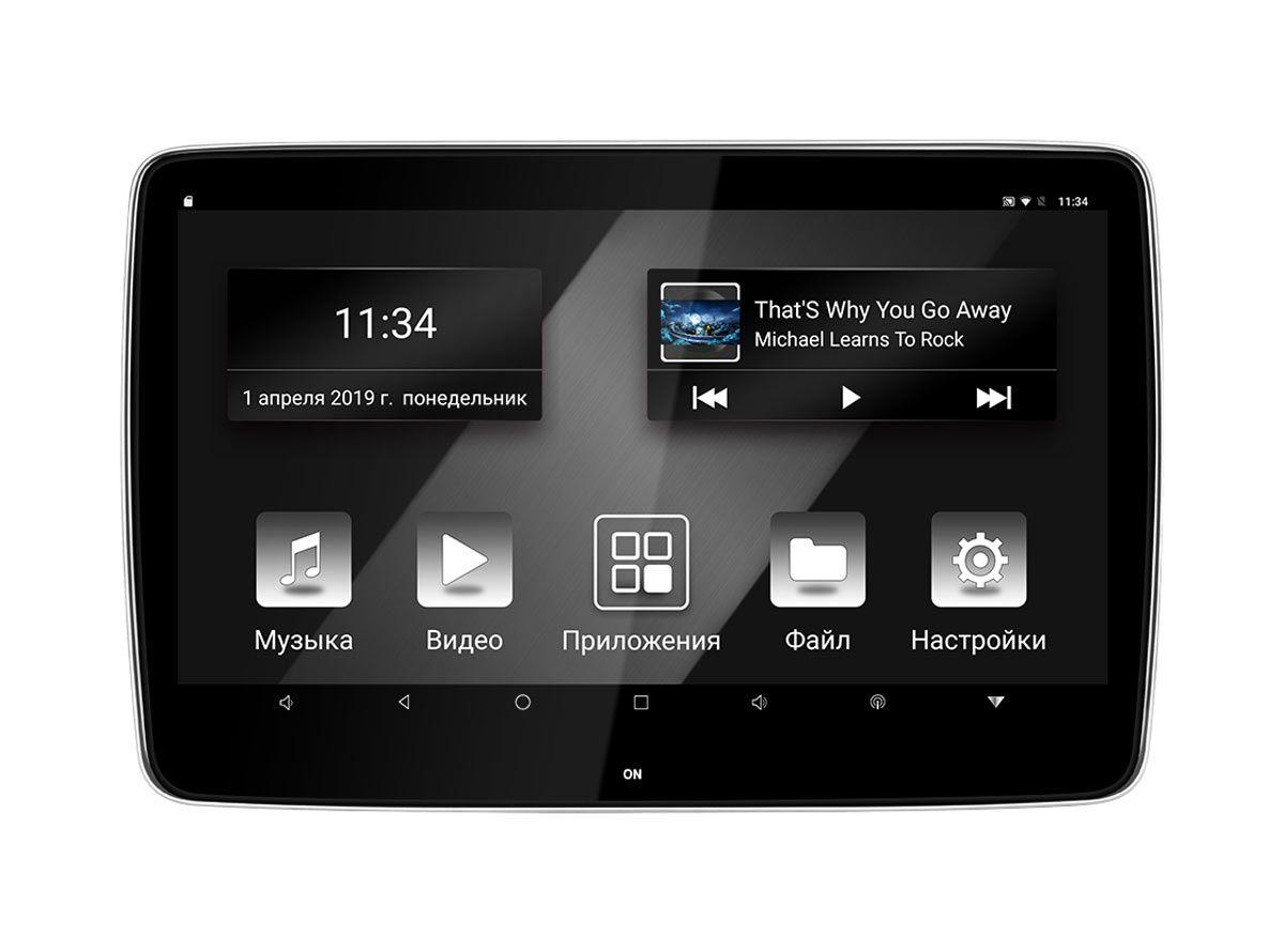 Монитор на подголовник на INCAR CDH-112 BL Android 7.1