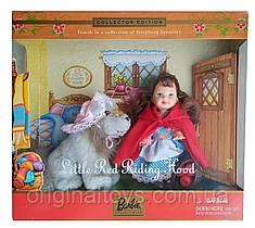 Набор коллекционная кукла Барби Келли Красная Шапочка и Волк Little Red Riding Hood And The Wolf 2001 Mattel