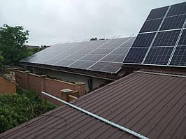 Сетевая солнечная электростанция 24кВт г. ЛуцкВолынскаяобласть 1