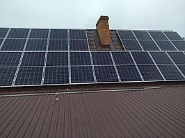Сетевая солнечная электростанция 24кВт г. ЛуцкВолынскаяобласть 2