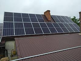 Сетевая солнечная электростанция 24кВт г. ЛуцкВолынскаяобласть 3