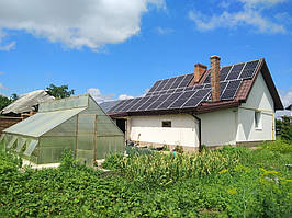 Сетевая солнечная электростанция 24кВт г. ЛуцкВолынскаяобласть 9