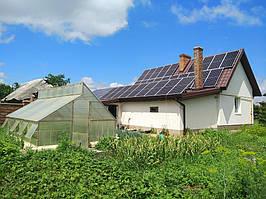 Сетевая солнечная электростанция 24кВт г. ЛуцкВолынскаяобласть 10