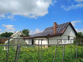 Сетевая солнечная электростанция 24кВт г. ЛуцкВолынскаяобласть 11