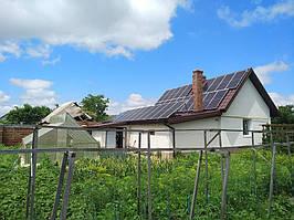 Сетевая солнечная электростанция 24кВт г. ЛуцкВолынскаяобласть 12