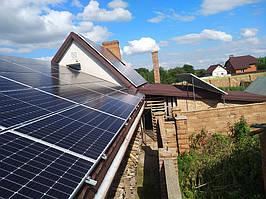 Сетевая солнечная электростанция 24кВт г. ЛуцкВолынскаяобласть 14