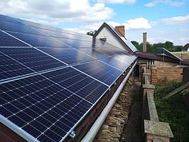 Сетевая солнечная электростанция 24кВт г. ЛуцкВолынскаяобласть 16