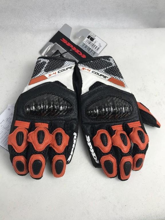 Шкіряні мотоперчатки SPІDІ X4 COUPE розмір L з Італії