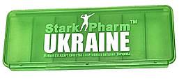 Таблетница Stark Pharm - Pillbox 7 cell (7 ячеек) зеленая