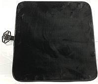 Меховые подушка на сиденья PSV, темносерая., фото 1