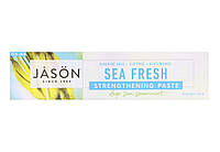 Зубная паста без фтора  Jason Sea Fresh,170 мл, фото 1